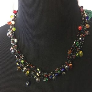 Jewelry - Colorful multilayered beaded necklace